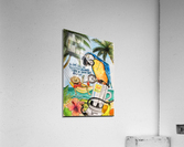 vacationparrot  Impression acrylique
