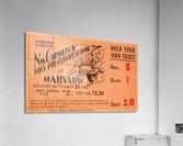 1942 Harvard Crimson vs. North Carolina Pre-Flight Cloudbusters  Acrylic Print