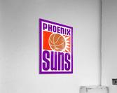 1970 Phoenix Suns Basketball Art  Acrylic Print