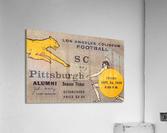 1959 Pittsburgh Panthers vs. USC Trojans  Acrylic Print