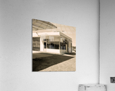 Urban Loneliness - The Gas Station  Acrylic Print