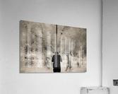 Urban Loneliness - Rain  Acrylic Print