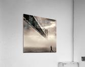 Urban Loneliness - The Bridge  Acrylic Print