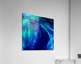 Glasswaves  Acrylic Print