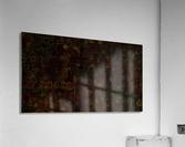 Glowing Stencil  Acrylic Print