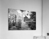 Infrared Scotland graveyard  Acrylic Print