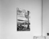 Wabasso Causeway with great white heron  Acrylic Print