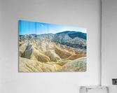 Death Valley Waves  Impression acrylique