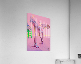 Pink Study East  Acrylic Print