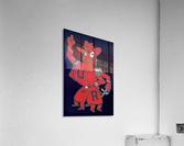 Vintage Fifties Richmond Spider Art  Acrylic Print