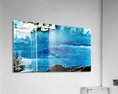 Blue Magnetic Wall  Acrylic Print