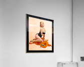Summertime Sweetheart by Al Buell Vintage Xzendor7 Old Masters Art Reproductions  Acrylic Print