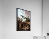 Park vile dEste by Hubert Robert Classical Fine Art Xzendor7 Old Masters Reproductions  Acrylic Print