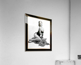 Summertime Sweetheart by Al Buell GS Vintage Xzendor7 Old Masters Art Deco Reproductions  Acrylic Print