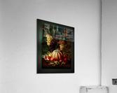 Pumpkin Platter by Johan Laurentz Jensen Classical Fine Art Xzendor7 Old Masters Reproductions  Acrylic Print