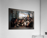 Episode of the September Days 1830 by Gustave Wappers Classical Fine Art Xzendor7 Old Masters Reproductions  Acrylic Print