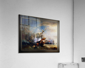 Battle of Cape Lizard in 1707 by Jean Antoine Theodore Gudin Classical Fine Art Xzendor7 Old Masters Reproductions  Acrylic Print