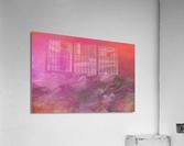 Pink Surf  Acrylic Print