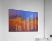Orange and Blue Landscape  Acrylic Print