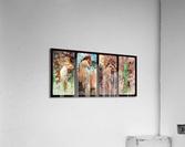 Seasons by Alphonse Mucha Art Nouveau Xzendor7 Old Masters Art Reproductions  Acrylic Print