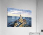 Petit Minou Lighthouse  Acrylic Print