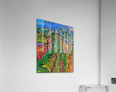 Vegetarian City Art Print  Acrylic Print