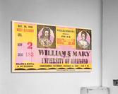 1948 William and Mary vs. Richmond  Acrylic Print