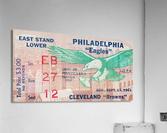 1961 Philadelphia Eagles vs. Cleveland Browns   Acrylic Print