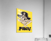 Vintage Sixties Pittsburgh Pirates Art  Acrylic Print