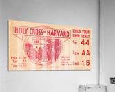 1934 Holy Cross vs. Harvard  Acrylic Print