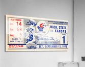 1970 Kansas Jayhawks vs. Washington State Cougars  Acrylic Print