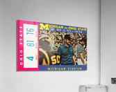 1975 Ohio State vs. Michigan  Acrylic Print