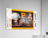 1980 Purdue Boilermakers vs. Minnesota Golden Gophers  Acrylic Print