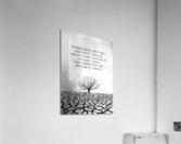 Tobit Parched Land Motivational Wall Art  Acrylic Print