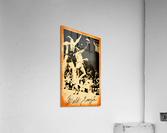 1976 New York Knicks Walt Frazier Art  Acrylic Print
