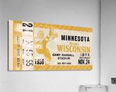 1956 Wisconsin Badgers vs. Minnesota Golden Gophers  Acrylic Print