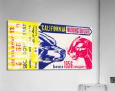 1956 Washington State Cougars vs. Cal Bears  Acrylic Print