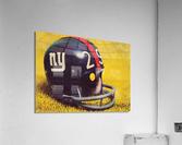 1969 New York Giants Vintage Football Helmet Photo Art  Acrylic Print