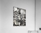 1971 NBA vs. ABA All-Star Game Program Art  Acrylic Print