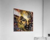 Emerging Buddha  Acrylic Print