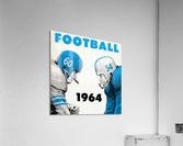 1964 Linemen Football Art  Acrylic Print