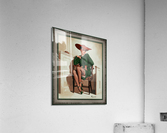 The Verdict Was by Gil Elvgren Vintage Pinup Illustration Xzendor7 Old Masters Reproductions  Acrylic Print