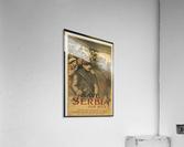 Vintage---Save-Serbia  Acrylic Print