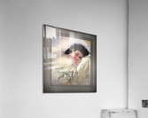 Sweet Dreams by Rolf Armstrong Vintage Illustration Xzendor7 Art Reproductions  Acrylic Print
