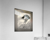 Sweet Dreams by Rolf Armstrong Vintage Illustration Xzendor7 Art Reproductions BW  Acrylic Print