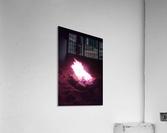 Fired  Acrylic Print