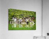 Snapshot in Time Hallstatt in the Upper Austria Alps 1 of 3  Acrylic Print