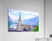 One Fine Day in Hallstatt Austria  Acrylic Print