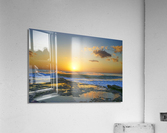 Brilliant Sunset at the Bay Hawaii  Acrylic Print