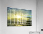 The Sun Sets at the Tidal Pools Hawaii  Acrylic Print